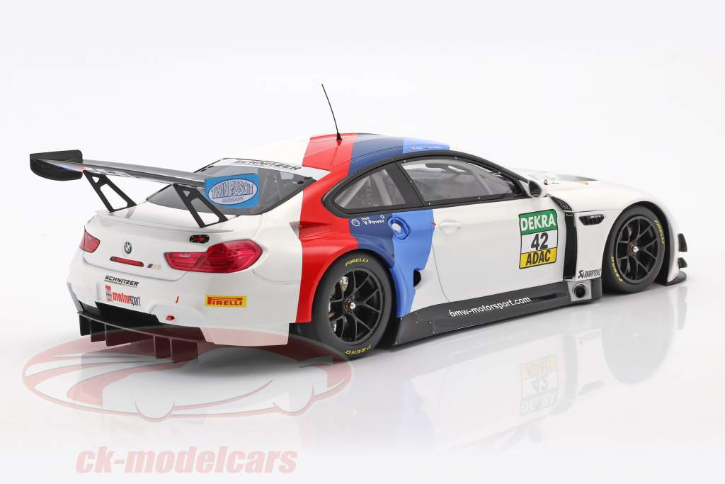 BMW M6 GT3 #42 Vinder GT Masters Oschersleben 2017 Collard , Eng 1:18 Minichamps