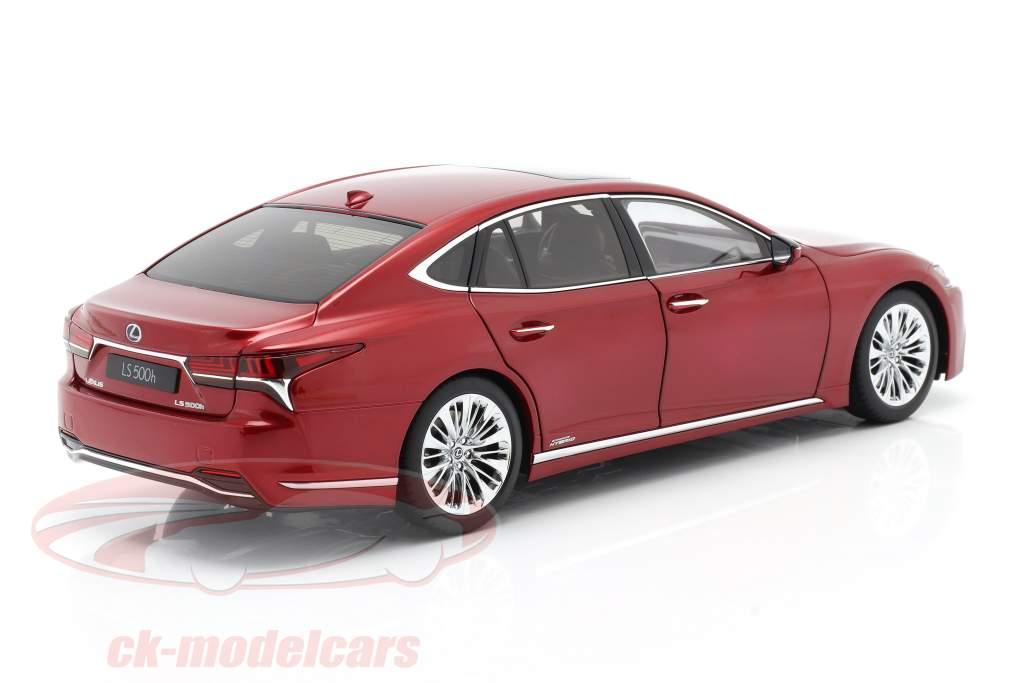 Lexus LS 500h Baujahr 2018 rot metallic 1:18 AUTOart