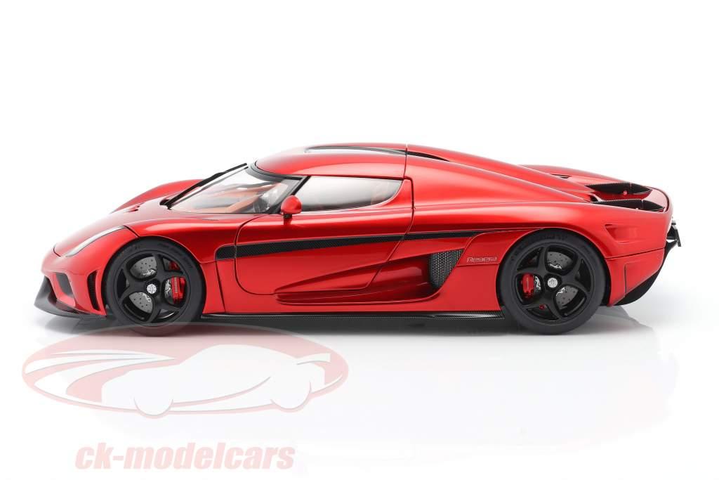 Koenigsegg Regera Byggeår 2016 slik rød 1:18 AUTOart