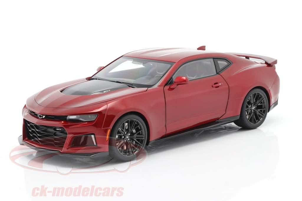 Chevrolet Camaro ZL1 Année de construction 2017 rouge 1:18 AUTOart