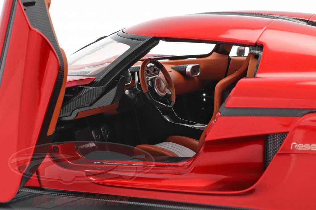 Koenigsegg Regera Ano de construção 2016 doce vermelho 1:18 AUTOart