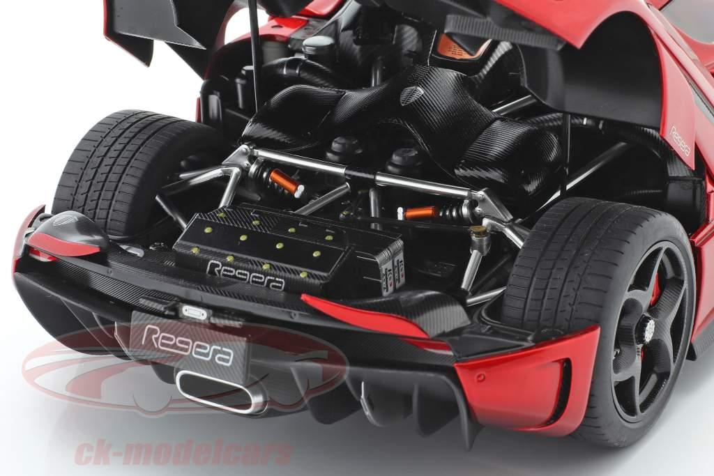 Koenigsegg Regera Anno di costruzione 2016 caramella rosso 1:18 AUTOart
