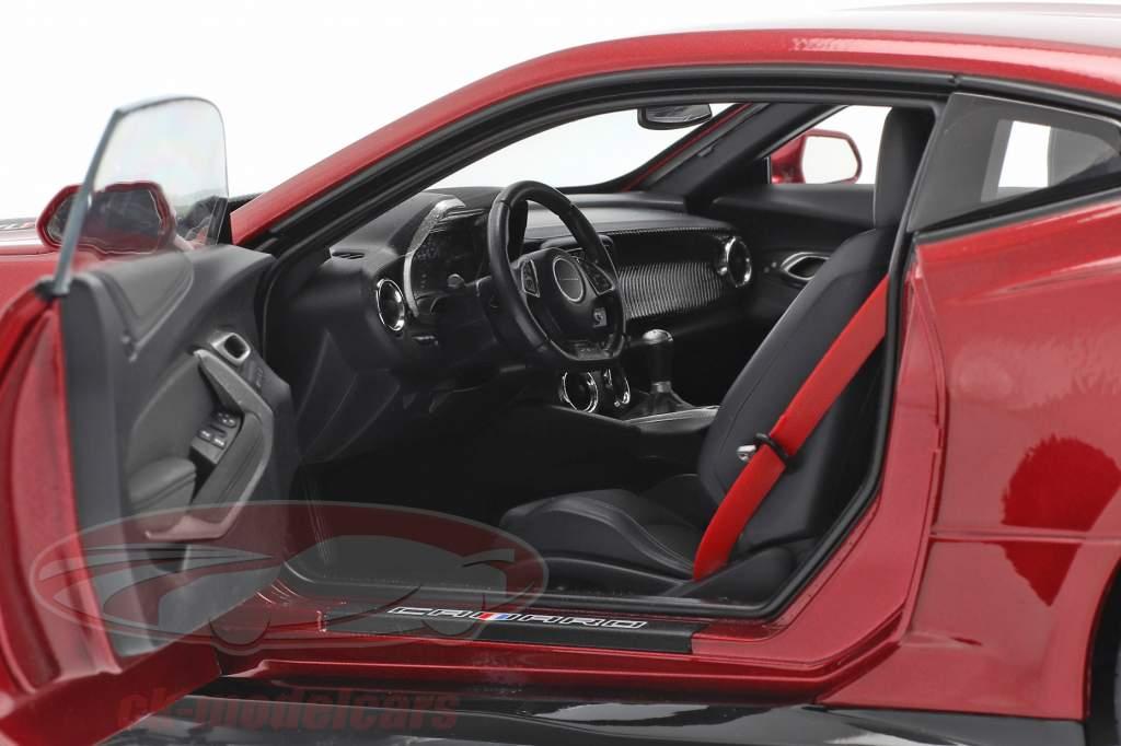 Chevrolet Camaro ZL1 Anno di costruzione 2017 rosso 1:18 AUTOart