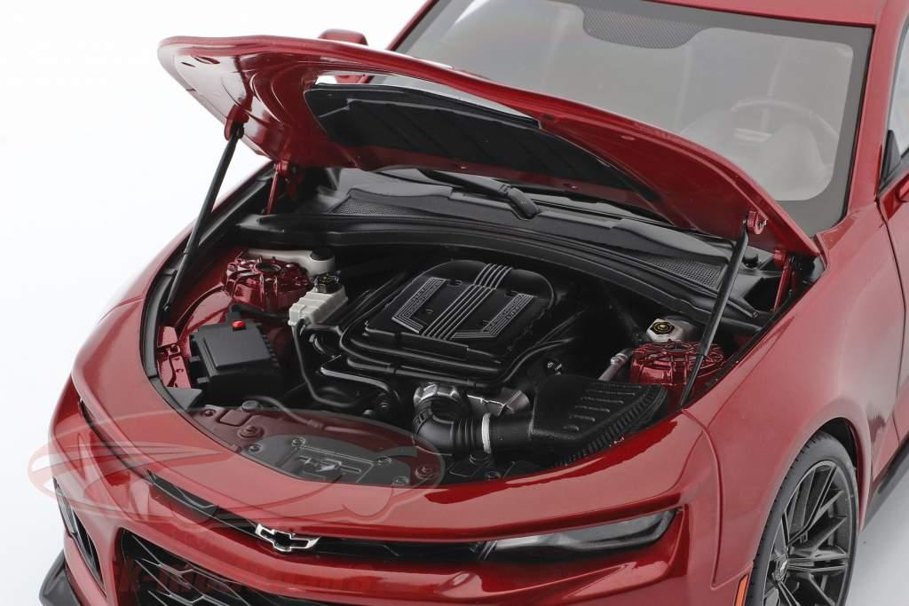 Chevrolet Camaro ZL1 year 2017 red 1:18 AUTOart