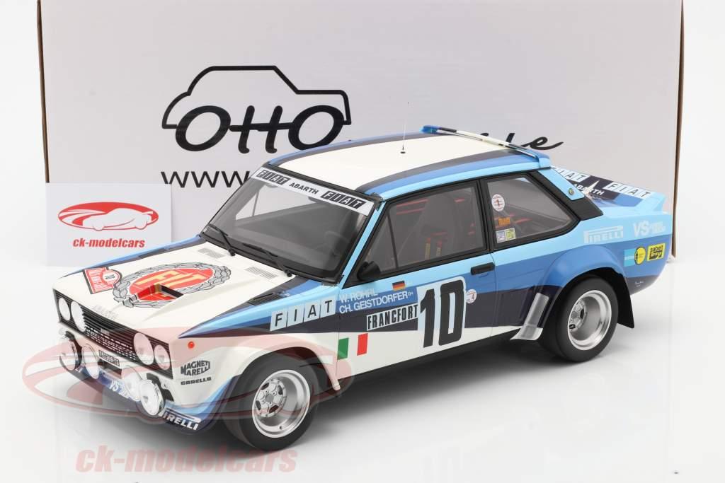 Fiat 131 Abarth #10 Winner Rally Monte Carlo 1980 Röhrl, Geistdörfer 1:12 OttOmobile