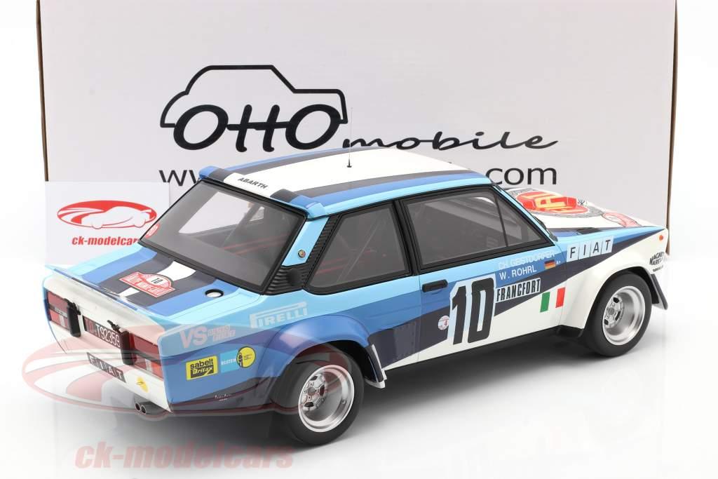 Fiat 131 Abarth #10 Ganador Rallye Monte Carlo 1980 Röhrl, Geistdörfer 1:12 OttOmobile