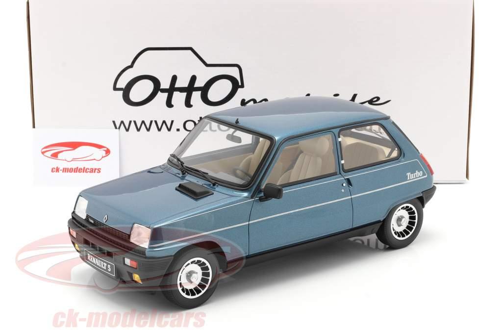 Renault R5 Alpine Turbo Byggeår 1984 alpine blå 1:12 OttOmobile