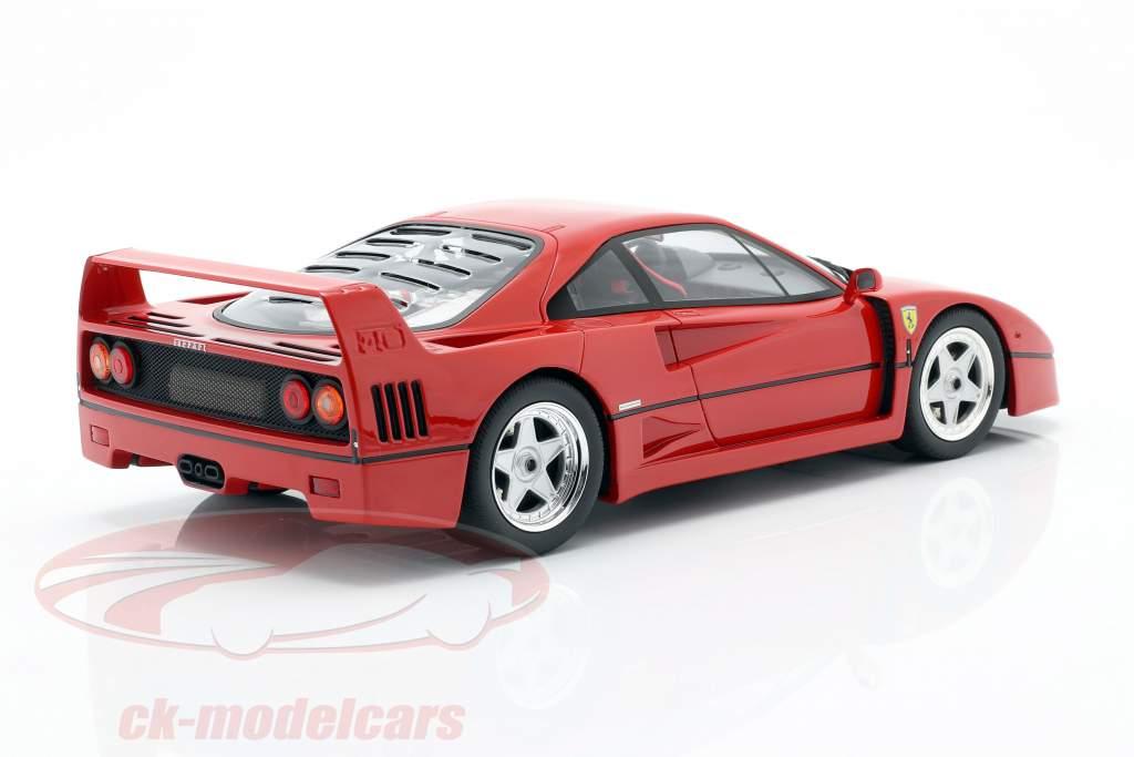 Ferrari F40 Byggeår 1987 rød 1:18 GT-SPIRIT