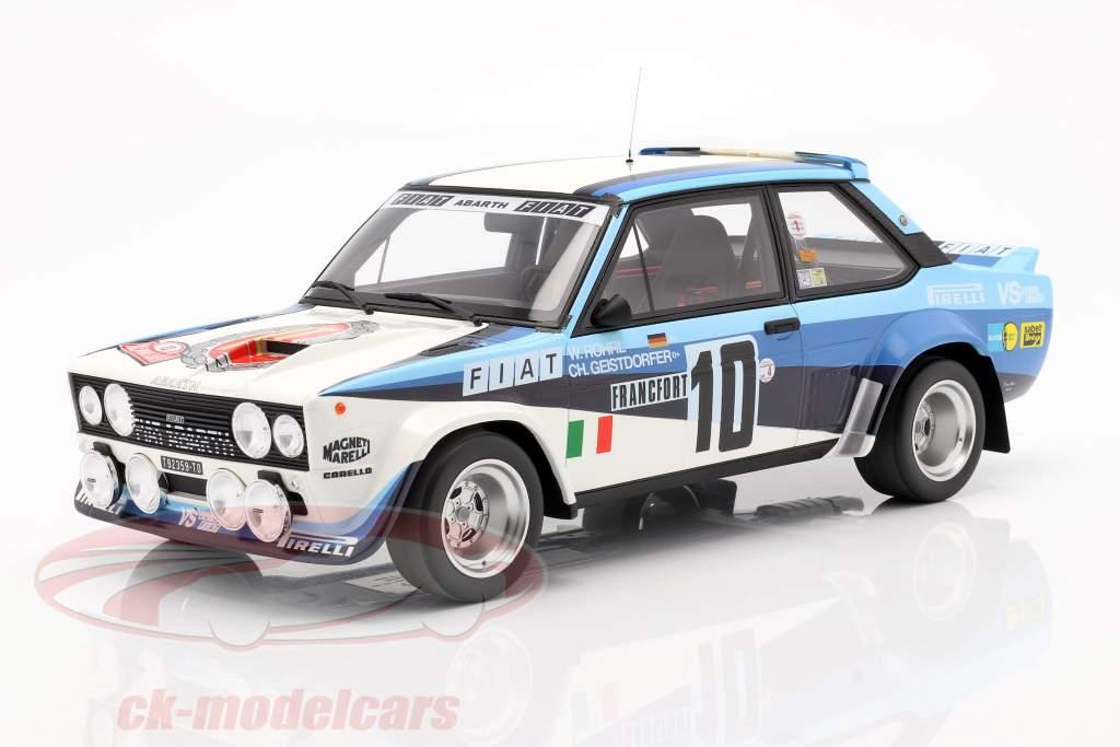 Fiat 131 Abarth #10 Vinder Rallye Monte Carlo 1980 Röhrl, Geistdörfer 1:12 OttOmobile