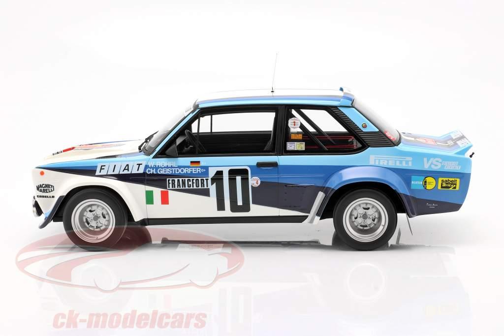 Fiat 131 Abarth #10 Winner Rallye Monte Carlo 1980 Röhrl, Geistdörfer 1:12 OttOmobile