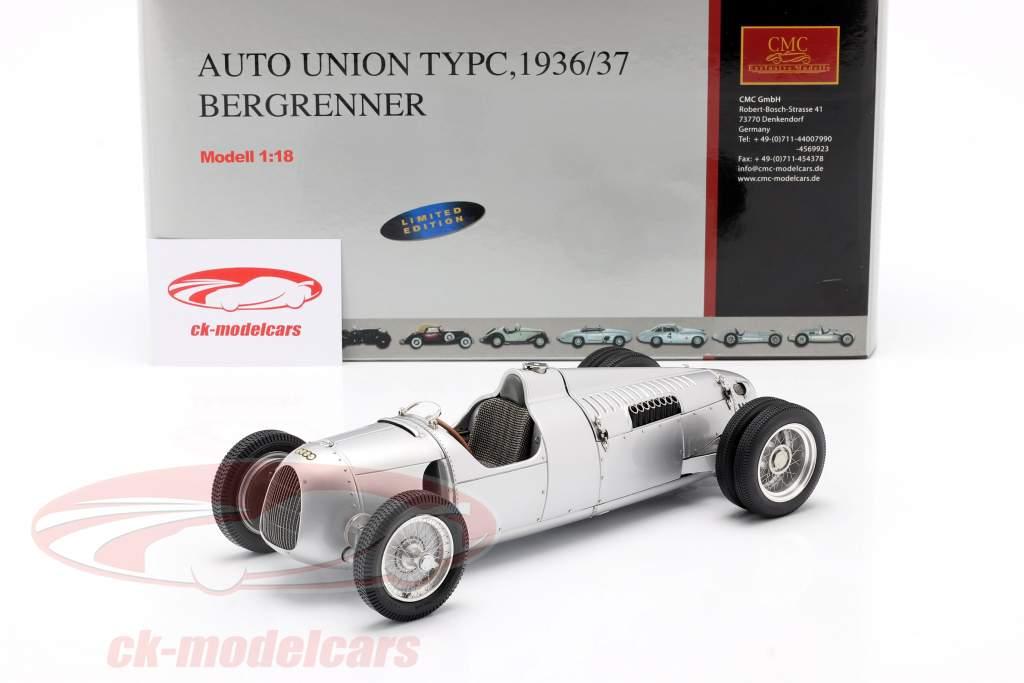 Auto Union F1 Type C 1936 ヒルクライマー Bernd Rosemeyer 1:18 CMC