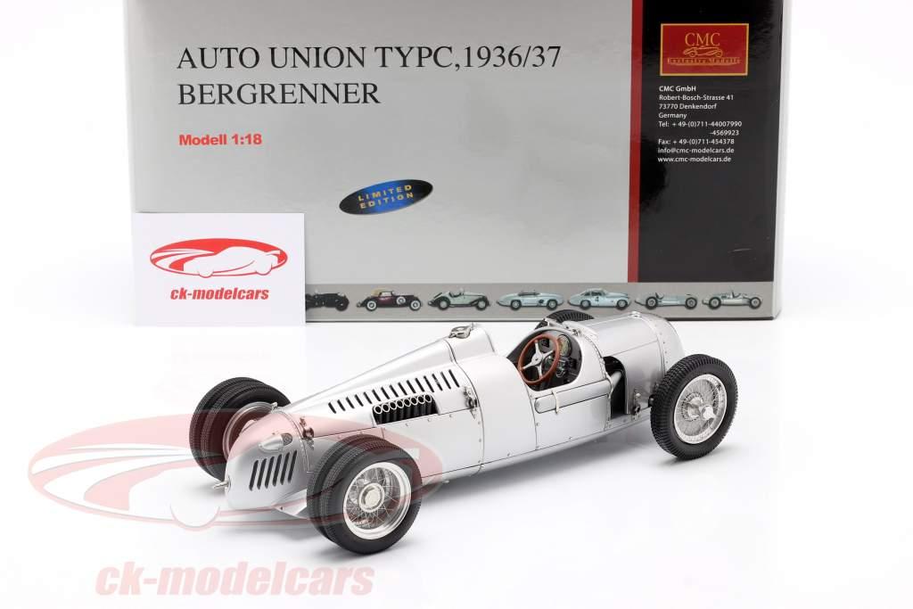 Auto Union F1 Type C 1936 Alpinista Bernd Rosemeyer 1:18 CMC