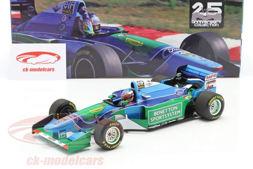 M. Schumacher Benetton B194 #5 vinder Ungarn F1 Verdensmester 1994 1:18 Minichamps