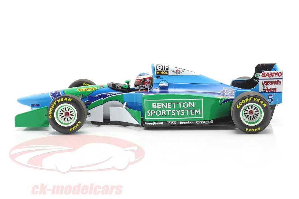 M. Schumacher Benetton B194 #5 gagnant Hongrie F1 Champion du monde 1994 1:18 Minichamps