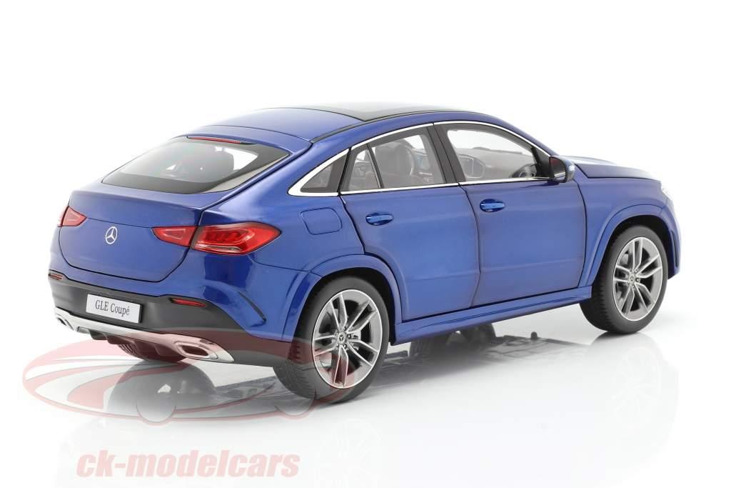 Mercedes-Benz GLE Coupe (C167) Anno 2020 brillante blu 1:18 iScale