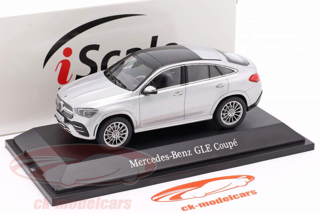 Mercedes-Benz GLE Coupe (C167) 2020 sølv 1:43 iScale