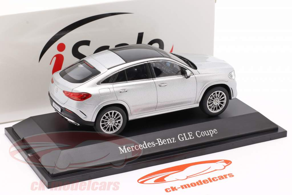Mercedes-Benz GLE Coupe (C167) 2020 silver 1:43 iScale