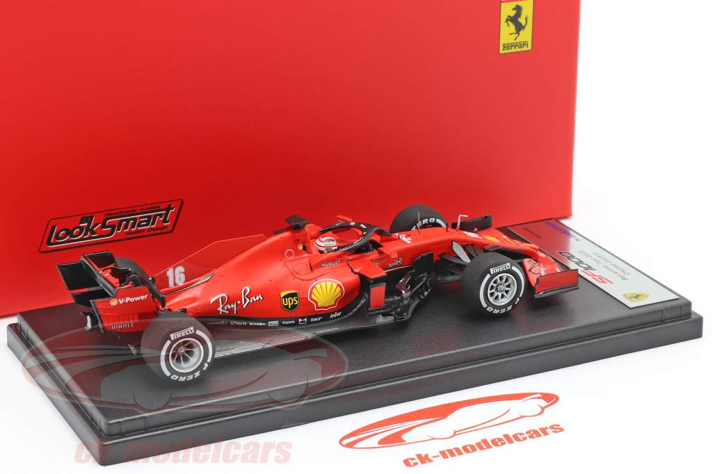 Charles Leclerc Ferrari SF1000 #16 Barcelona Test formel 1 2020 1:43 LookSmart