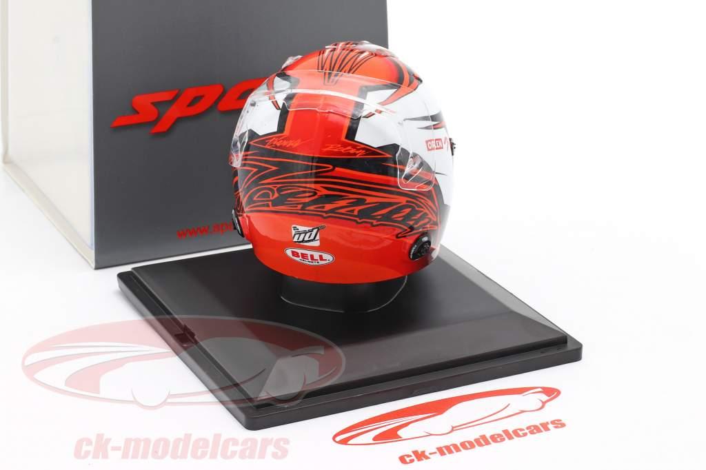 Kimi Räikkönen #7 Alfa Romeo Racing Orlen formel 1 2020 hjelm 1:5 Spark