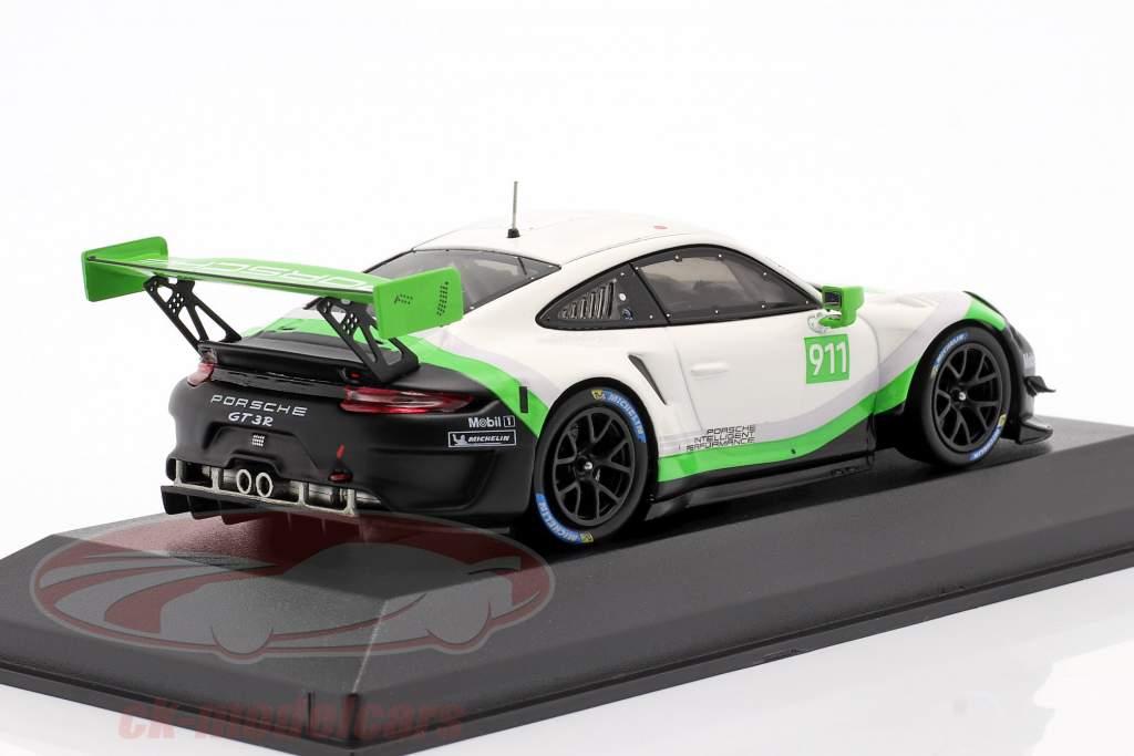 Porsche 911 GT3 R Ano de construção 2019 #911 1:43 Minichamps