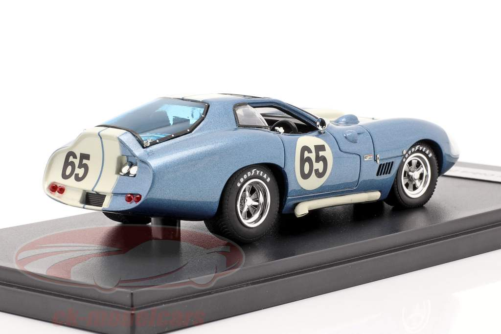 Shelby Cobra Daytona Type 65 Proto year 1965 blue / white 1:43 Matrix