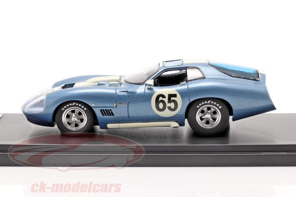 Shelby Cobra Daytona Type 65 Proto Année de construction 1965 bleu / blanc 1:43 Matrix