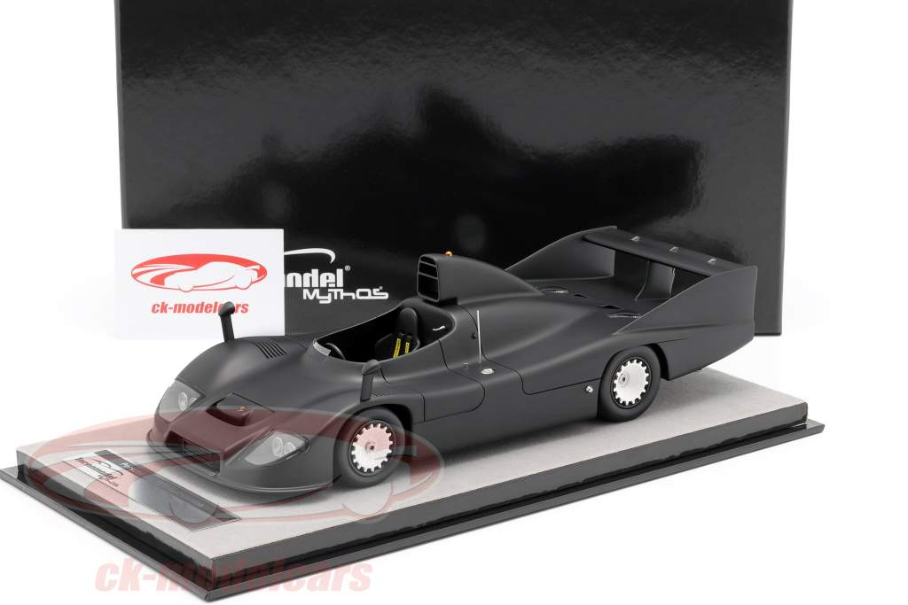 Porsche 936 test version 1977 mat black 1:18 Tecnomodel