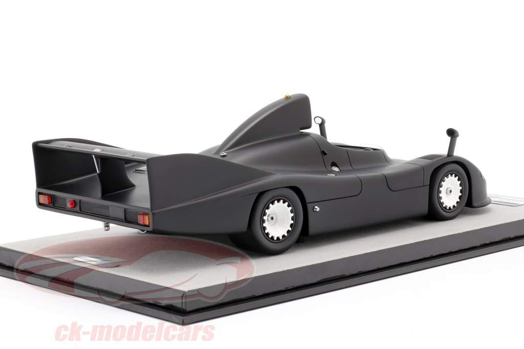 Porsche 936 teste versão 1977 fosco Preto 1:18 Tecnomodel