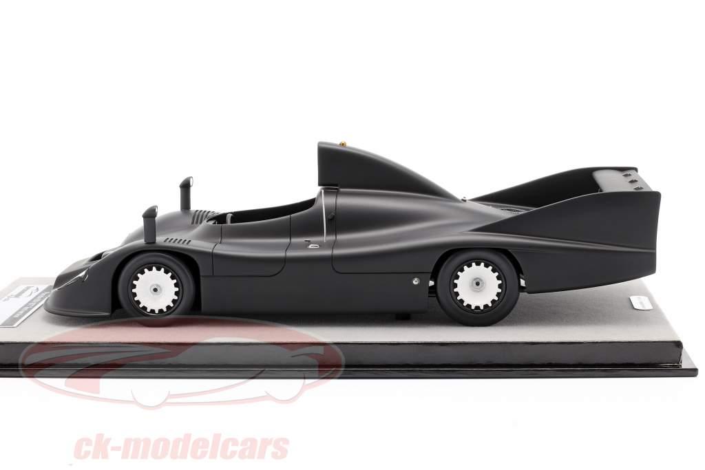 Porsche 936 prueba versión 1977 escarchado negro 1:18 Tecnomodel