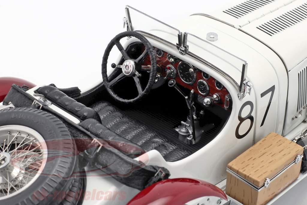 Mercedes-Benz SSKL #87 Winner Mille Miglia 1931 Caracciola, Sebastian 1:18 CMC