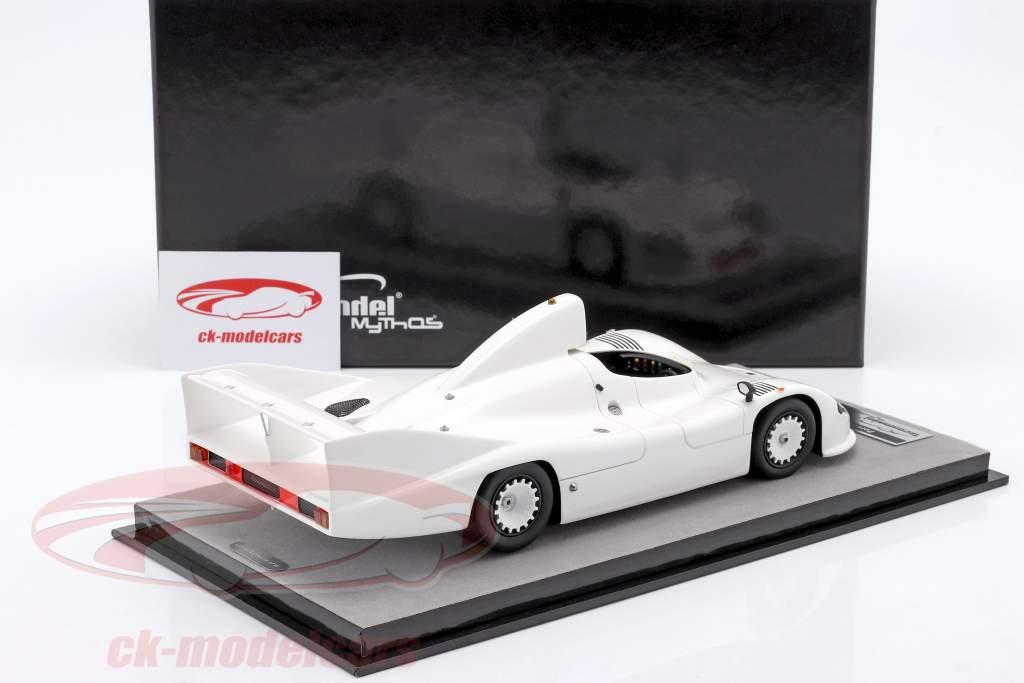 Porsche 936 druk op versie 1977 Wit 1:18 Tecnomodel