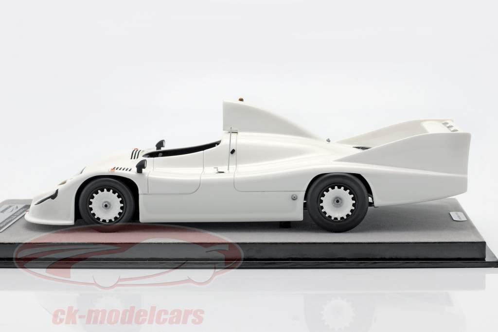Porsche 936 presse version 1977 blanc 1:18 Tecnomodel