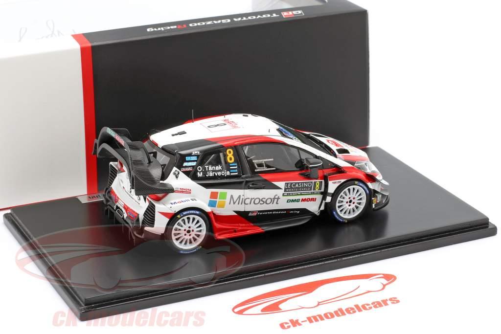 Toyota Yaris WRC #8 3. Rallye Monte Carlo 2019 Tänak, Järveoja 1:43 Spark