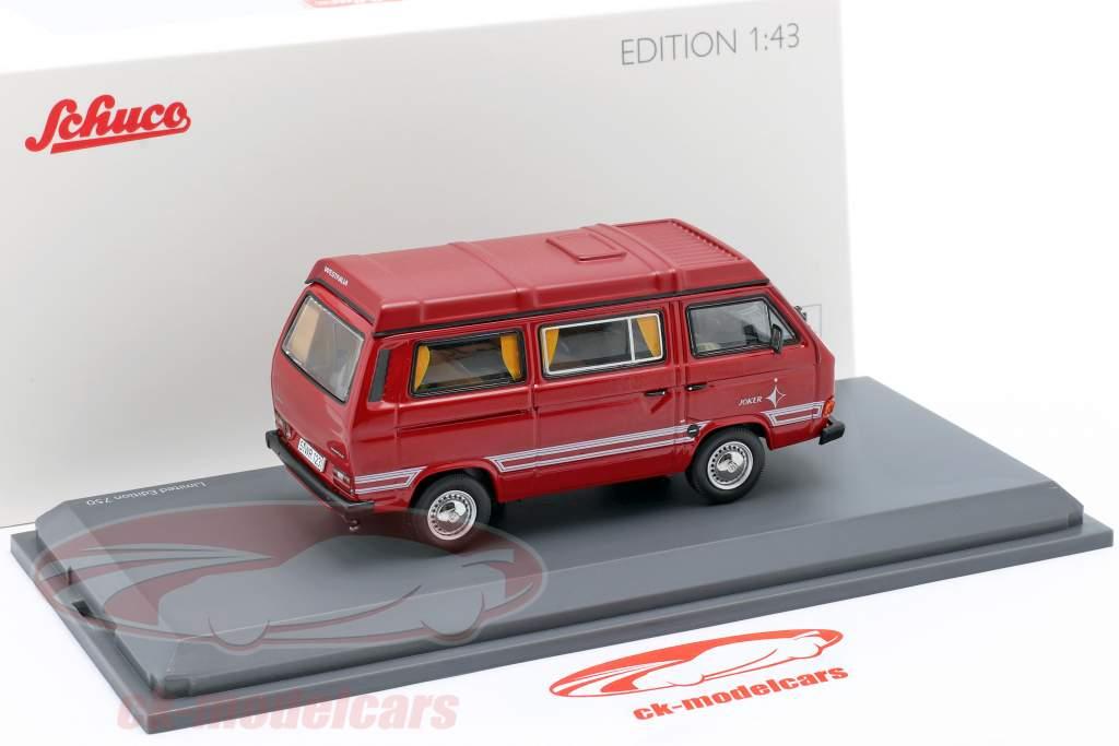 Volkswagen VW T3b Westfalia Joker rød 1:43 Schuco
