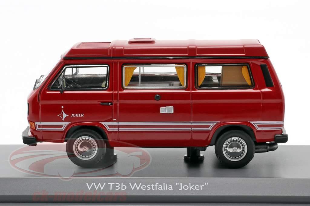 Volkswagen VW T3b Westfalia Joker rood 1:43 Schuco