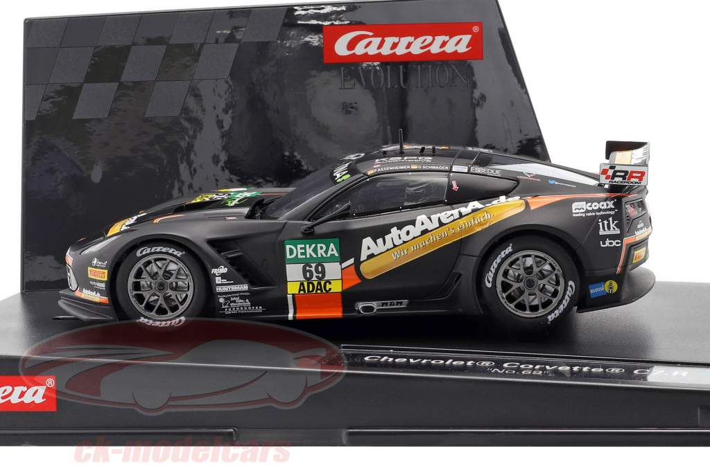 SlotCar Chevrolet Corvette C7 GT3-R #69 ADAC GT Masters 2016 1:32 Carrera Evolution
