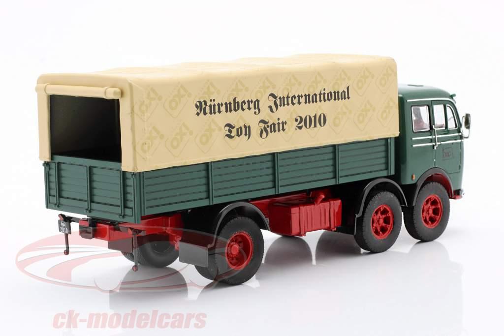 Mercedes-Benz LP 333 Spielwarenmesse Nürnberg 2010 grün / beige 1:43 Ixo