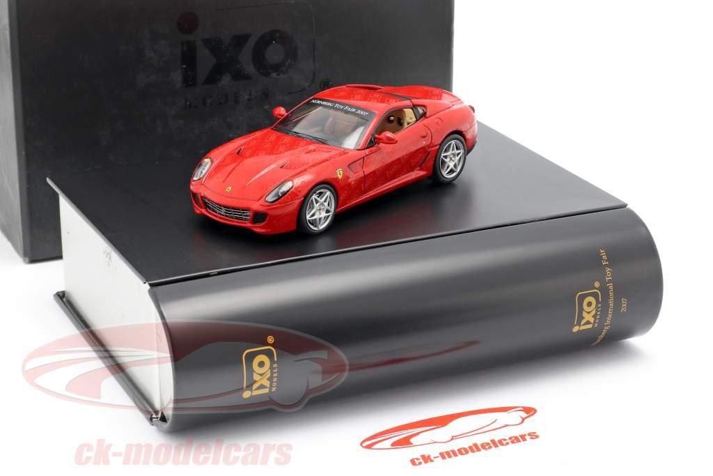 Ferrari 599 GTB Feria de juguetes Nuremberg 2007 rojo 1:43 Ixo