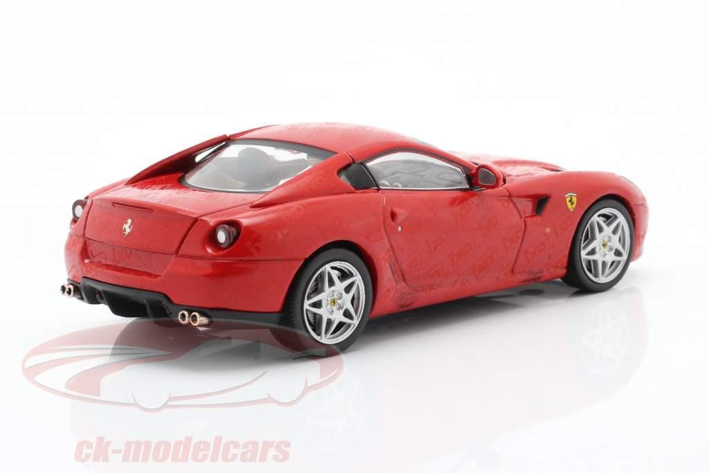Ferrari 599 GTB Legetøjsmesse Nürnberg 2007 rød 1:43 Ixo