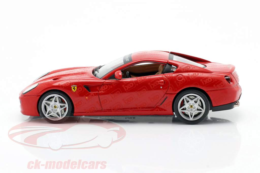 Ferrari 599 GTB Toy fair Nuremberg 2007 red 1:43 Ixo