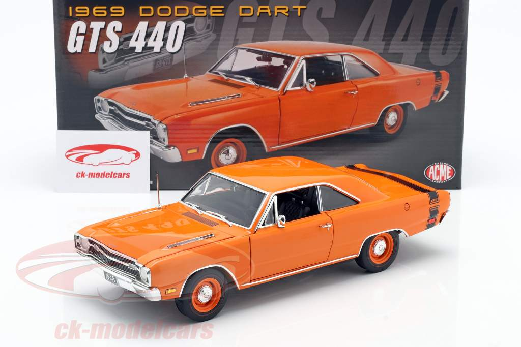 Dodge Dart GTS 440 Byggeår 1969 orange 1:18 GMP
