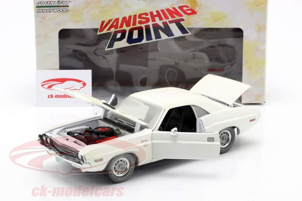 Dodge Challenger R/T Dirty Version 1970 Film Vanishing Point 1:18 Greenlight