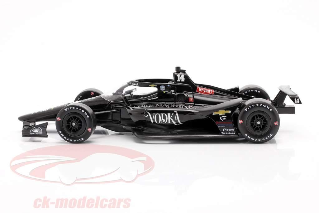 Tony Kanaan Chevrolet #14 Indycar Series 2020 A. J. Foyt Enterprises 1:18 Greenlight