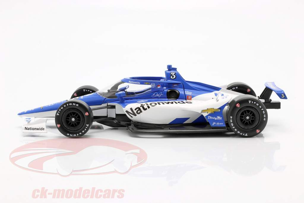 Dale Earnhardt Jr. Chevrolet #3 Indycar iRacing 2020 1:18 Greenlight