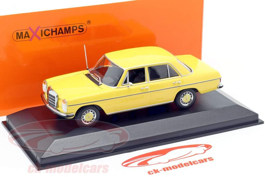 Mercedes-Benz 200 (W114/115) year 1968 yellow 1:43 Minichamps