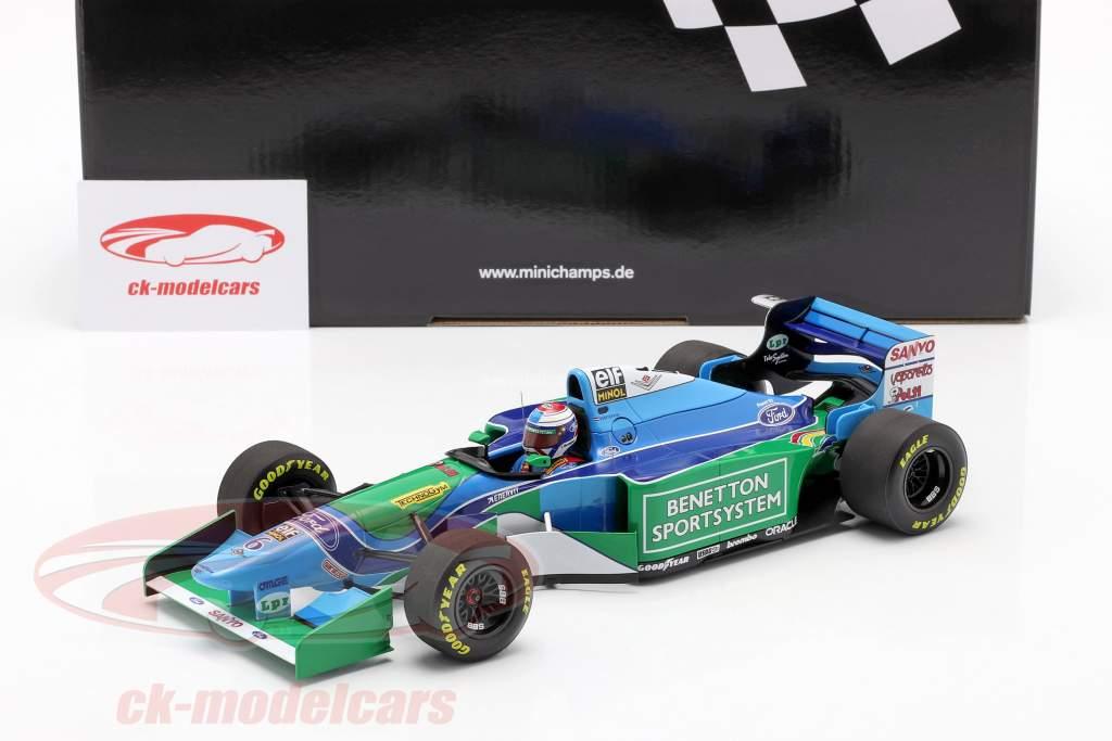 Jos Verstappen Benetton B194 #6 3rd Ungarn GP Formel 1 1994 1:18 Minichamps