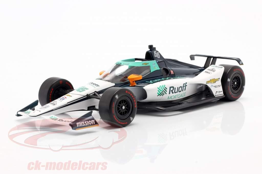 F. Alonso Chevrolet #66 Indycar Series 2020 Arrow McLaren SP 1:18 Greenlight