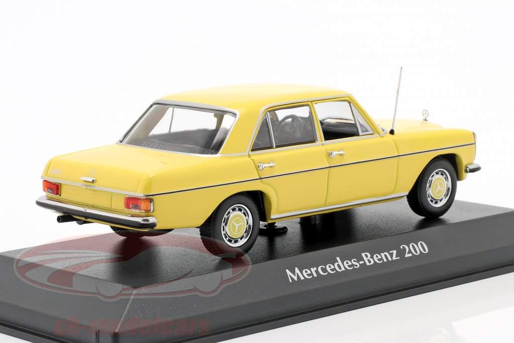 Mercedes-Benz 200 (W114/115) Baujahr 1968 gelb 1:43 Minichamps