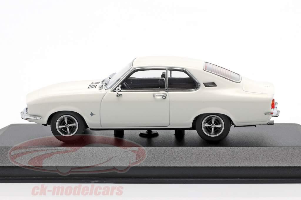Opel Manta year 1970 white 1:43 Minichamps