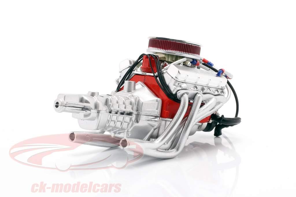 Chevrolet Camaro Big Red 427 Motor und Getriebe 1:18 GMP
